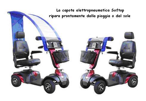 mobility, capote per pioggia, disabili