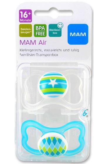 MAM Air Silikonseta 16+ mesi - Farmalilla