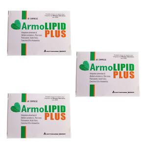 3 confezioni di armolipid plus 60 compresse - Zfarmacia