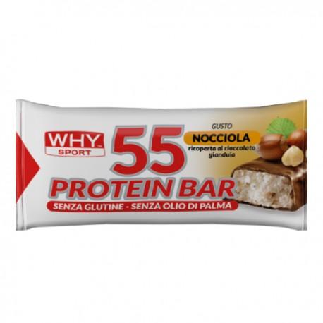 WHYSPORT 55 PROTEIN BARRETTA NOCCIOLA/GIANDUIA 55 G - La tua farmacia online