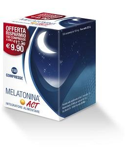 F&F MELATONINA ACT 1MG 150 CPR - Zfarmacia