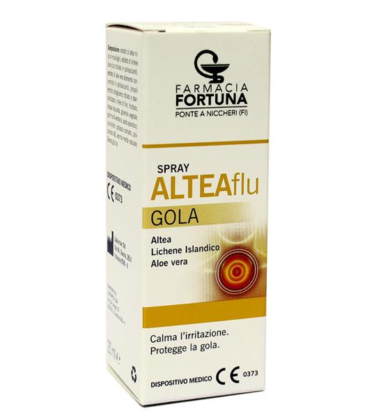 TuaFarmaOnline ALTEAFlu Gola Spray Calma l'Irritazione Protegge la Gola 20ml - La tua farmacia online