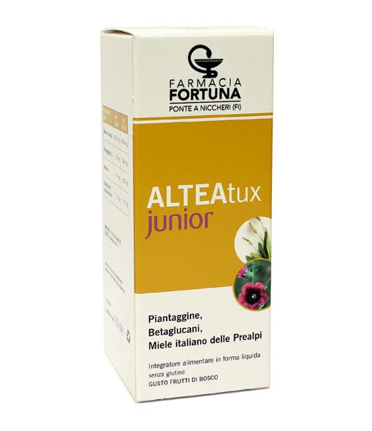 TuaFarmaOnline ALTEATux Junior Sciroppo Bambini Benessere Della Gola 150ml - La tua farmacia online