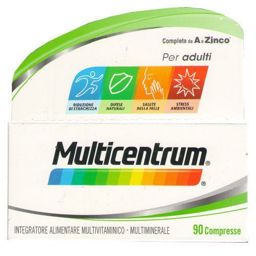 Multicentrum Adulti Integratore Energetico 90 Compresse - La tua farmacia online