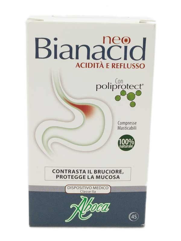Aboca NeoBianacid 45 Compresse Masticabili - Farmawing