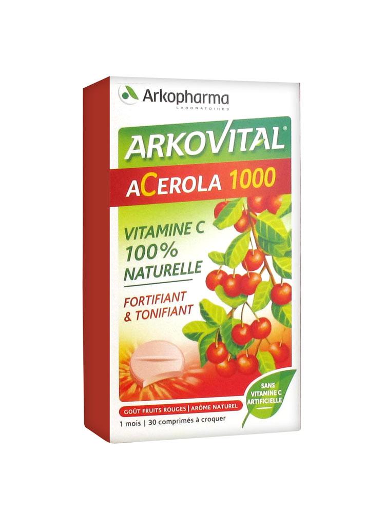 ACEROLA 30CPR MASTICABILE - Farmacia 33