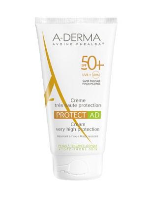A-Derma Solare Pelle Atopica Protect SPF50+ AD Crema Viso Protezione Alta 40 ml - Farmastar.it