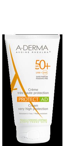 A-Derma Protect AD Crema SPF 50+ Protezione Molto Alta 150 ml - La tua farmacia online