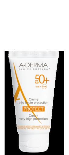 A-Derma Protect Crema SPF 50+ Protezione Viso Molto Alta 40 ml - La tua farmacia online