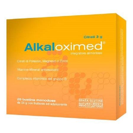 Omeopiacenza Alkaloximed Integratore Alimenatre Magnesio Potassio e Vitamine 20 Bustine - Farmastar.it