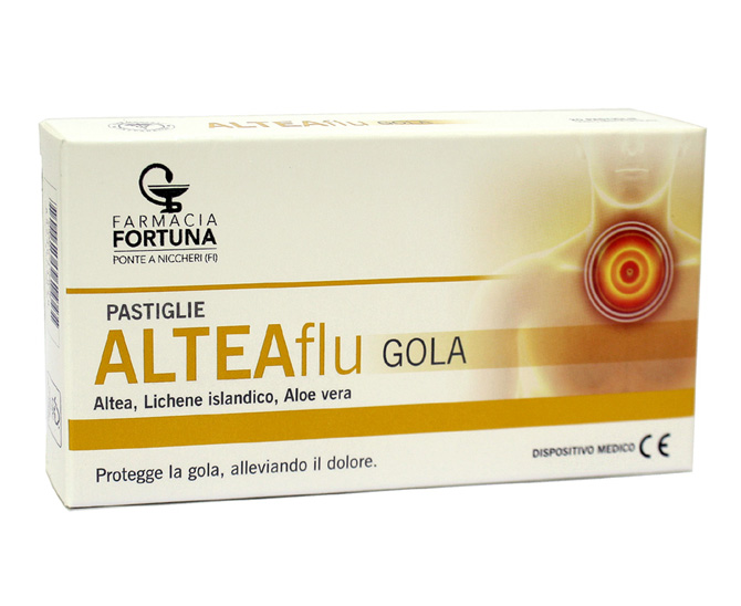 TuaFarmaOnline ALTEAFlu Gola Integratore Apparato Respiratorio 20 Pastiglie - La tua farmacia online