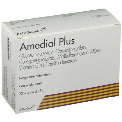 Amedial Plus Integratore Alimentare 20 Bustine da 5gr - FARMAPRIME