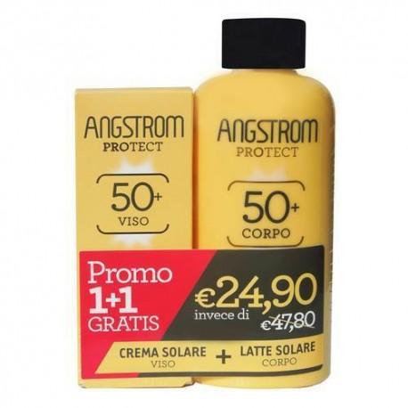 ANGSTROM BIPACCO LATTE 50 + CREMA VISO 50+ - Farmaciasconti.it