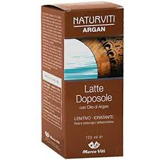 Argan Latte Doposole 125ml - Parafarmaciabenessere.it