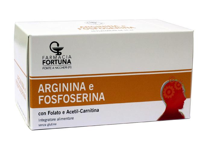TuaFarmaonLine Arginina Fosfoserina Integratore Stanchezza 10 Flaconcini - La tua farmacia online