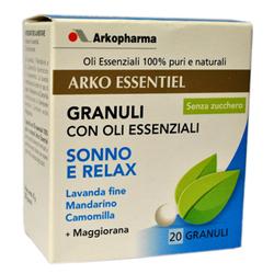 Arkopharma Arko Essentiel Granuli Oli Essenziali Sonno/Relax 8g - La tua farmacia online