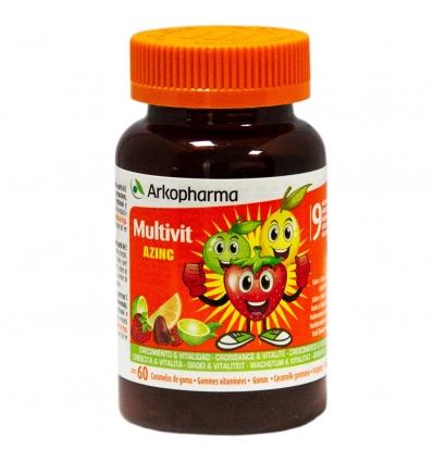 Arkopharma Arkovital Zinc Vitamine per bambini 60 Caramelle gommose  - La tua farmacia online