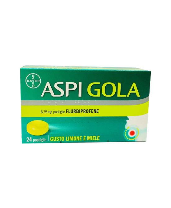 ASPI GOLA 24 PASTIGLIE LIMONE E  MIELE - La tua farmacia online