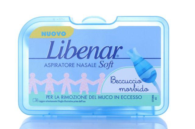 ASPIRATORE NASALE LIBENAR PREMIUM CON 5 FILTRI - Farmamille