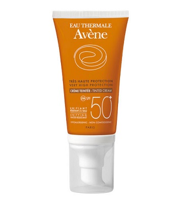 Avene Solare Crema SPF 50+ Colorata Pelli Secche 50 ml - Farmastar.it