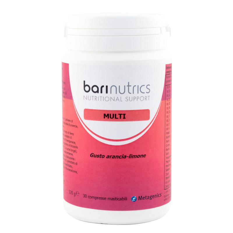 Barinutrics Multi Agrumi 30 Compresse - Farmacia 33