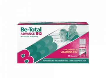 BETOTAL ADVANCE B12 15 FLACONCINI - Farmamille