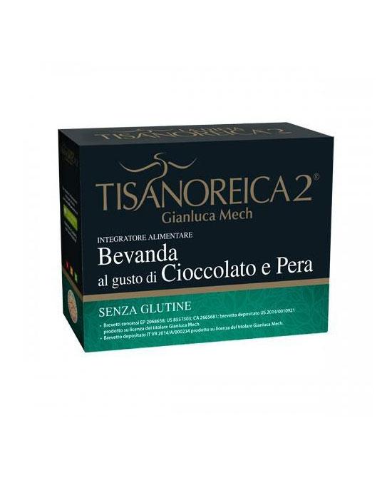 Tisanoreica2 Bevanda al gusto di Cioccolato e Pera 4x28gr - La tua farmacia online