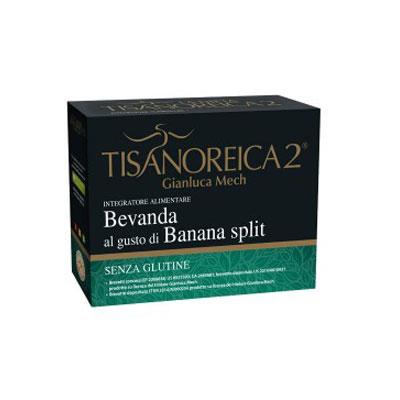 Tisanoreica2 Bevanda al Gusto di Banana Split 4 Preparati da 28 g - La tua farmacia online