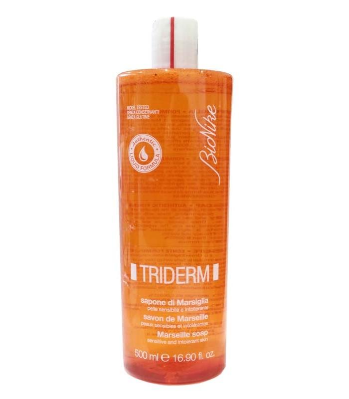 BioNike Triderm Sapone Di Marsiglia Liquido 500ml - Zfarmacia