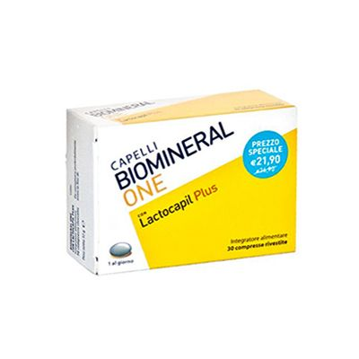 BIOMINERAL ONE LACTOCAPIL PLUS 30  COMPRESSE + SHAMPOO BIOTHYMUS D 150 ML - FARMAPRIME