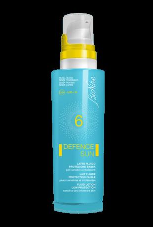 Defence Sun Latte Fluido SPF 6 Protezione Bassa 125 ml - Farmalilla