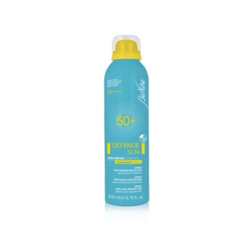 BIONIKE DEFENCE SUN SPRAY INVISIBILE SPF 50+ PELLI SENSIBILI 200 ML - Farmastar.it
