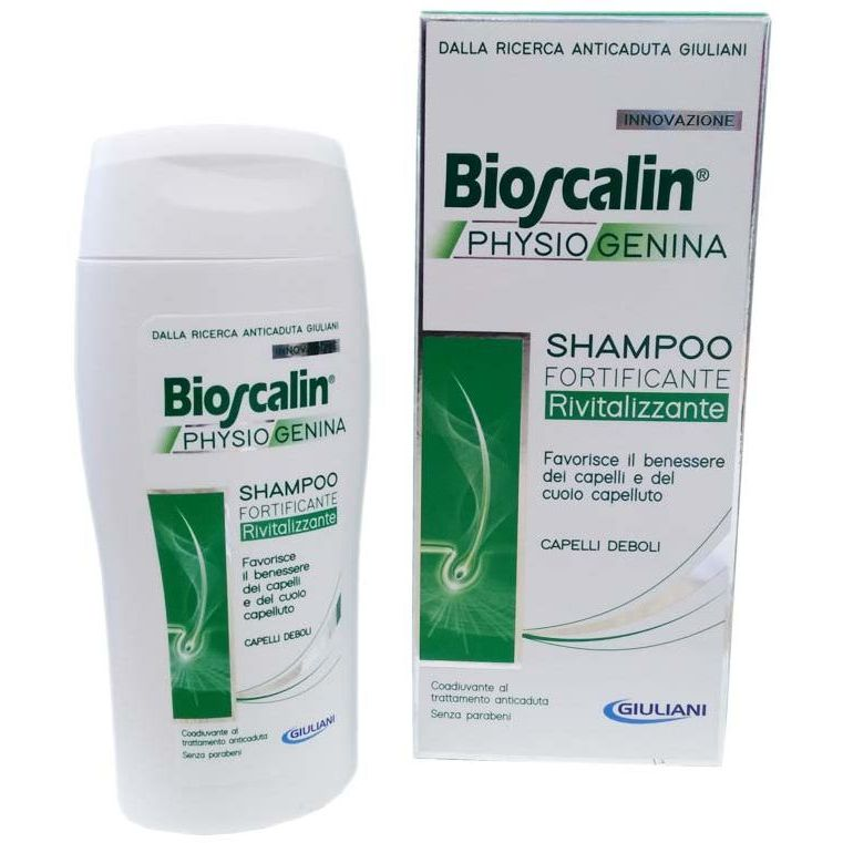 BIOSCALIN PHYSIOGENINA SHAMPOO FORTIFICANTE RIVITALIZZANTE 200 ML - Farmastar.it