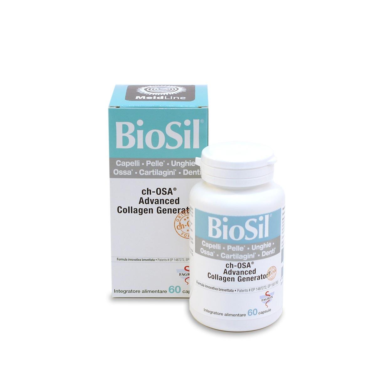 BIOSIL 60 CAPSULE - Zfarmacia