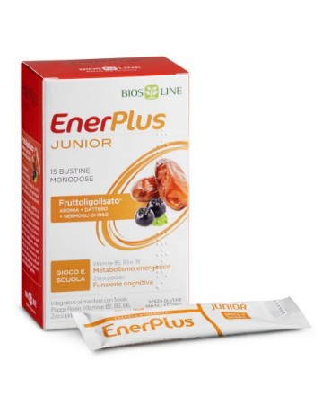 BIOSLINE ENER PLUS JUNIOR 15 BUSTINE X 10 ML - Farmastar.it