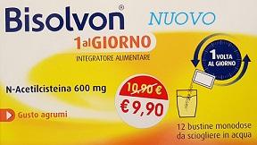 BISOLVON 1AL GIORNO 12 BUSTINE MONODOSE - Farmamille