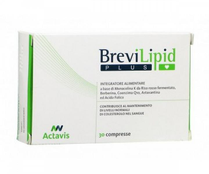 BREVILIPID PLUS 30 COMPRESSE - Zfarmacia