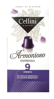 CAFFE' 10 CAPSULE CELLINI ARMONIOSO - Farmacia 33