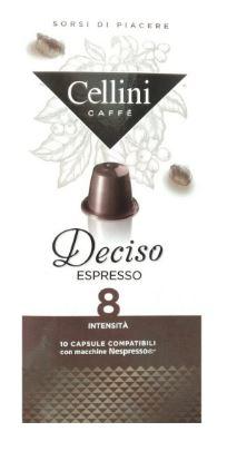 CAFFE' 10 CAPSULE CELLINI DECISO - Farmacia 33