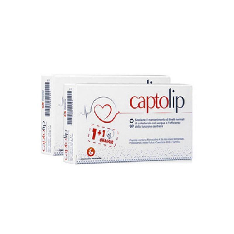 CAPTOLIP 24 COMPRESSE + 24 COMPRESSE OMAGGIO - Farmacento