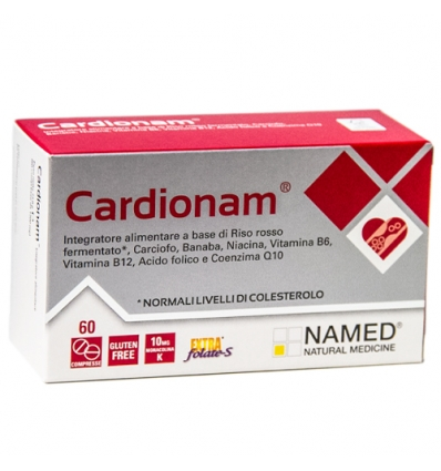 Named Cardionam Linea Colesterolo Integratore Alimentare 60 Compresse - Farmastar.it