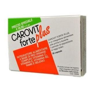 CAROVIT FORTE PLUS 30 CAPSULE  - Farmacia 33
