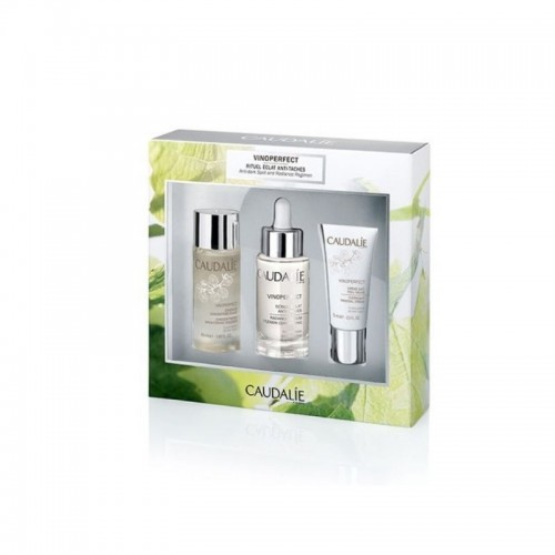 CAUDALIE COFANETTO SIERO VINOPERFECT 1 2 3 CON ESSENZA 50 ML + CREMA NOTTE 15 ML + SIERO 30 ML - Farmastar.it