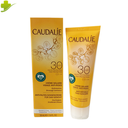 CAUDALIE CREMA SOLARE VISO SPF30+ ANTI RUGHE 50 ML - Farmastar.it