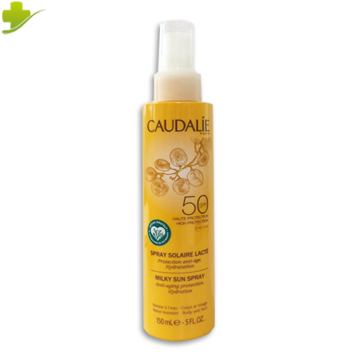 CAUDALIE LATTE SOLARE CORPO SPRAY SPF50+ ANTI AGE 50ML - Farmastar.it