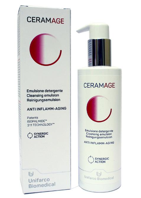 Ceramage Emulsione Detergente Anti Inflamm-Aging Anti-Invecchiamento 200 ml - La tua farmacia online