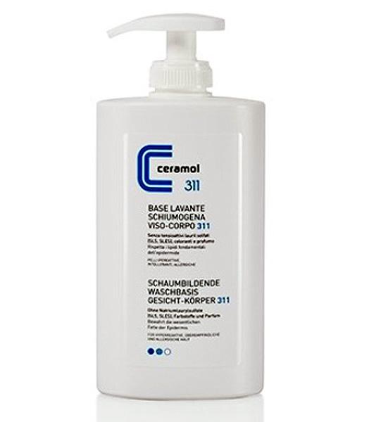 Ceramol 311 Base Lavante Schiumogena Viso e Corpo 400ml - La tua farmacia online