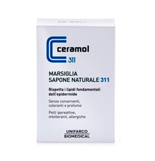 Ceramol Sapone Marsiglia Naturale 100g - La tua farmacia online