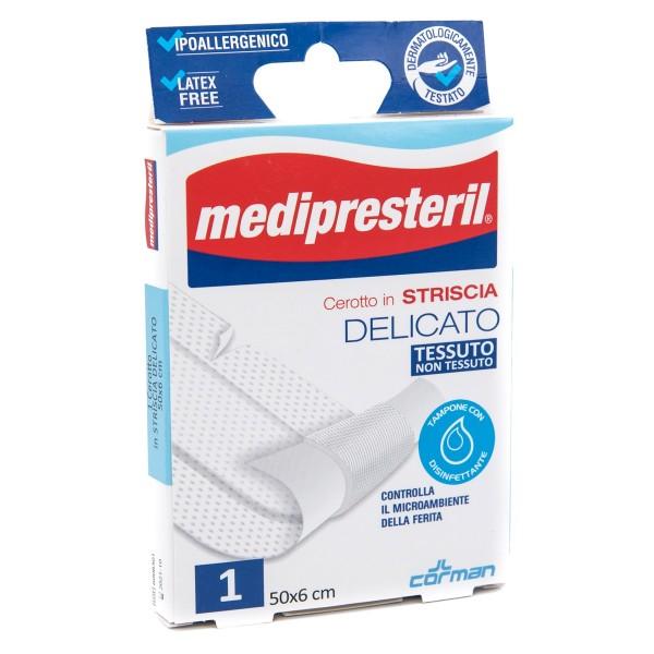 CEROTTO MEDIPRESTERIL IN STRISCE MISURA 6X50CM 1 PEZZO - Farmacento