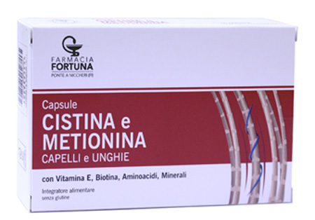 TuaFarmaonLine CISTINA e METIONINA Integratore Capelli e Unghie 60 Capsule - La tua farmacia online